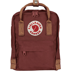 Fjällräven Kånken Mini Rucksack Kinder ox red-goose eye